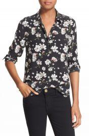 Equipment  Leema  Floral Print Silk Shirt at Nordstrom