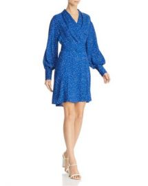 Equipment Fanetta Polka-Dot Wrap Dress Women - Bloomingdale s at Bloomingdales