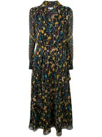 Equipment Floral Print Midi Dress - Farfetch at Farfetch