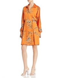 Equipment Harmon Floral Satin Wrap Dress Women - Bloomingdale s at Bloomingdales