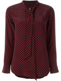 Equipment Kate Moss For Equipment Heart Blouse - Tootsies at Farfetch