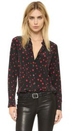 Equipment Kate Moss Slim Signature Clean Blouse at Shopbop