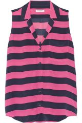 Equipment Keira Striped Top at The Outnet