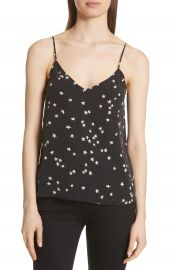 Equipment Layla Star Print Silk Camisole   Nordstrom at Nordstrom