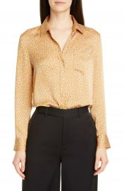 Equipment Leema Ditsy Print Shirt   Nordstrom at Nordstrom