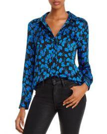 Equipment Leema Floral Satin Button-Down Shirt Women - Bloomingdale s at Bloomingdales
