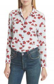 Equipment Leema Floral Silk Shirt at Nordstrom