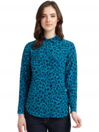 Equipment Leopard Blouse at Saks Fifth Avenue