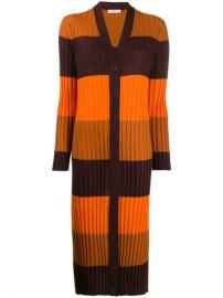Equipment Longline Ribbed Knit Cardigan - Farfetch at Farfetch