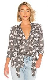 Equipment Luis Blouse in Vintage Ink Multi from Revolve com at Revolve