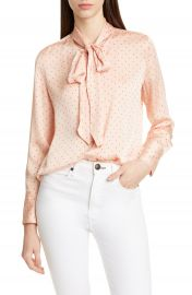 Equipment Luis Tie Neck Blouse   Nordstrom at Nordstrom