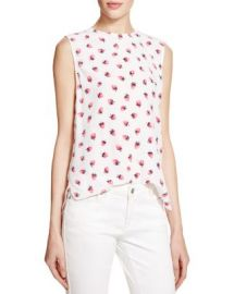 Equipment Lyle Strawberry Print Top at Bloomingdales