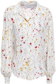Equipment Marcilly Blouse at The Outnet