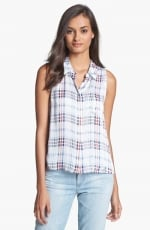 Equipment Mina blouse in plaid at Nordstrom