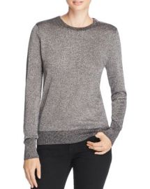 Equipment Ondine Metallic Sweater at Bloomingdales
