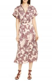 Equipment Orlenna Silk Blend Midi Shirtdress   Nordstrom at Nordstrom