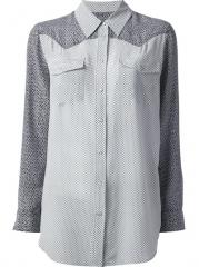 Equipment Raglan Sleeve Shirt - Anita Hass at Farfetch