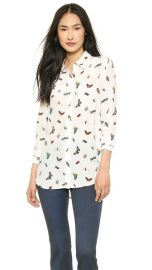 Equipment Reese Blouse at Shopbop