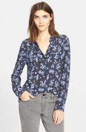 Equipment Reese Silk Shirt in Peacoat Multi at Nordstrom