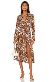 Equipment Relle Dress in Eclipse Multi from Revolve com at Revolve