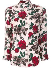 Equipment Rose Print Shirt - Farfetch at Farfetch