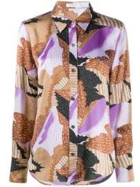 Equipment Sedienne abstract-print shirt Sedienne abstract-print shirt at Farfetch