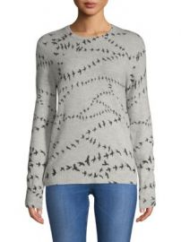 Equipment Shane Sweater in Bird Print at Saks Off 5th