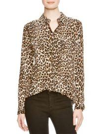 Equipment Shirt - Leopard Print Slim Signature at Bloomingdales