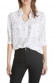 Equipment Signature Button-Down Silk Shirt at Nordstrom