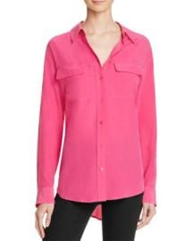 Equipment Slim Signature Silk Shirt at Bloomingdales