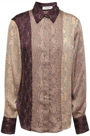 Equipment Snake Print Top at The Outnet