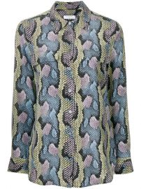 Equipment Snakeskin Print Blouse  413 - Buy Online - Mobile Friendly  Fast Delivery  Price at Farfetch
