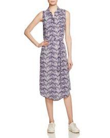 Equipment Tegan Printed Silk Dress at Bloomingdales