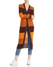 Equipment Verelle Striped Wool Long Cardigan Women - Bloomingdale s at Bloomingdales