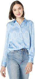 Equipment Women\'s Printed Silk Poplin Leema Shirt at Amazon
