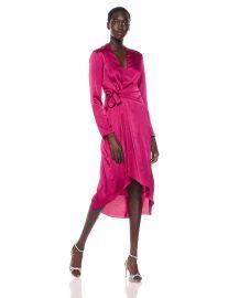 Equipment Women s Adisa Hammered Satin Dress at Amazon