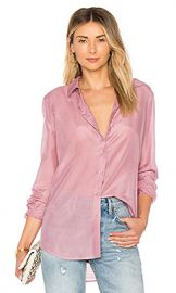 Equipment Woven Essential Top in Orchid Smoke from Revolve com at Revolve