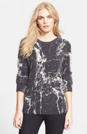 Equipment and39Sloaneand39 Marble Print Crewneck Cashmere Sweater at Nordstrom