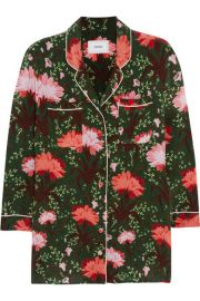 Erdem - Ray floral-print silk-satin blouse at Net A Porter