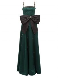 Erdem Ravenna crystal-embellished satin gown at Matches