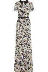 Erdem floral gown at Net A Porter