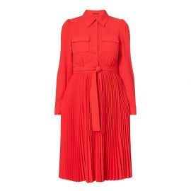 Ere Pleated Shirtdress at Elie Tahari