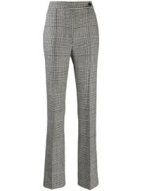 Ermanno Scervino Houndstooth Check Trousers - Farfetch at Farfetch
