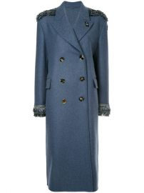 Ermanno Scervino Sequin Detailed Double Breasted Coat  5 310 - Buy Online AW17 - Quick Shipping  Price at Farfetch
