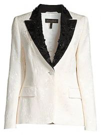 Escada - Brikenati Beaded Jacquard Dinner Jacket at Saks Fifth Avenue