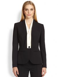 Escada - Contrast-Lapel Tuxedo Jacket at Saks Fifth Avenue