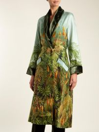 Escape Velvet-Trimmed Robe by F.R.S For Restless Sleepers at Matches