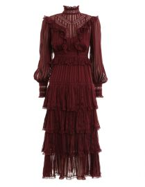 Espionage Lace Panel Dress by Zimmermann at Zimmermann