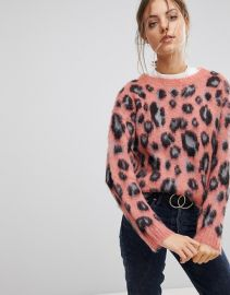 Esprit Animal Print Sweater   ASOS at Asos