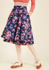 Essence of Elan Midi Skirt at ModCloth